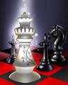 Royal Spotlight Badge - Chess