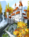 Fairy Tale Palace Badge - Payday Freecell HD