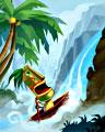 Chasing Waterfalls Badge - Jungle Gin HD