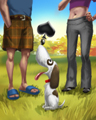 Slick Tricks Badge - Spades HD