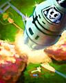 Pogo Blastoff! Secret Super Badge