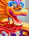 Paper Dragon Badge - Mahjong Garden HD