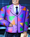 Colored Suit Badge - TRIVIAL PURSUIT Daily 20
