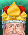 Crown Of Spades Badge - Payday Freecell HD