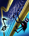 Tux And Plucks Badge - Rainy Day Spider Solitaire HD