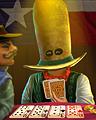 Poker Face Badge - No Limit Texas Hold'em