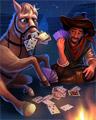 Horseplay Badge - No Limit Texas Hold'em