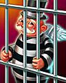 Jail Bird Badge - MONOPOLY The World Edition