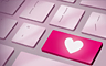 The Online Dating Badge - Claire Hart Classic
