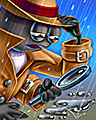 Hard Boiled Badge - Rainy Day Spider Solitaire HD
