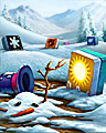 Global Warming Badge - Mahjong Garden HD