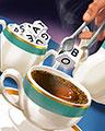 Tea For Two Badge - BOGGLE Bash