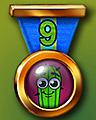 Spike's Marathon 9 Badge - Pogo Bowl
