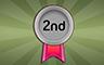 First Second Badge - Poppit! Bingo