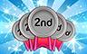 150 Seconds Badge - Poppit! Bingo