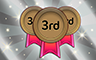 75 Thirds Badge - Poppit! Bingo