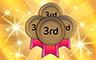 150 Thirds Badge - Poppit! Bingo