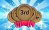300 Thirds Badge - Poppit! Bingo