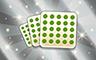 Pop 25 Blackouts Badge - Poppit! Bingo