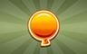 25 Golden Balloons Badge - Poppit! Bingo
