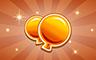 100 Golden Balloons Badge - Poppit! Bingo