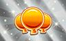 300 Golden Balloons Badge - Poppit! Bingo