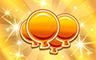 600 Golden Balloons Badge - Poppit! Bingo