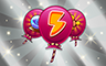 200 Power-Ups Badge - Poppit! Bingo