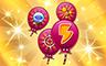 500 Power-Ups Badge - Poppit! Bingo