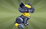 Cat Statue Badge - Poppit! Bingo