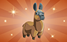 Bronze Stuffed Llamas Badge - Poppit! Bingo