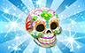 Diamond Skulls Badge - Poppit! Bingo