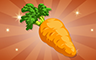 Bronze Carrot Badge - Poppit! Bingo