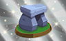Silver Stone Replica Badge - Poppit! Bingo