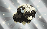Silver Stuffed Yak Badge - Poppit! Bingo