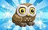 Diamond Athenian Owl Badge - Poppit! Bingo