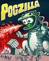 Pogo Pogzilla Badge