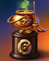 Halloween Marathon 6 Badge - Peggle Slots