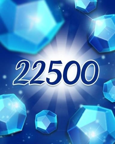 Blue Jewels 22500 Badge - Jewel Academy