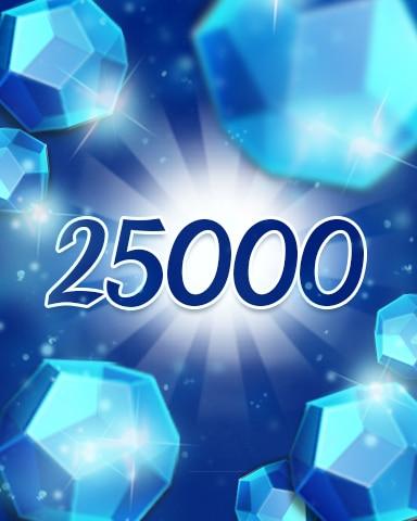 Blue Jewels 25000 Badge - Jewel Academy