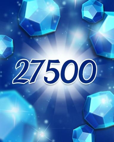 Blue Jewels 27500 Badge - Jewel Academy