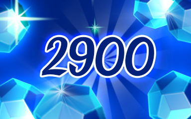 Blue Jewels 2900 Badge - Jewel Academy