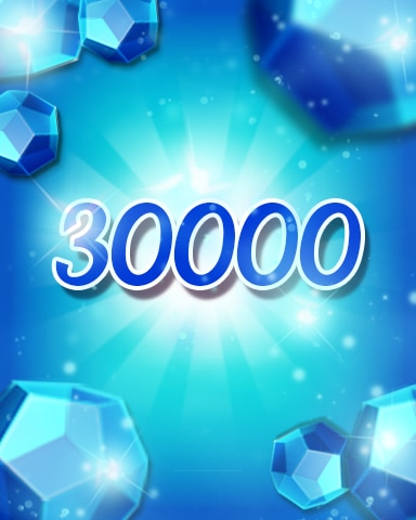 Blue Jewels 30000 Badge - Jewel Academy