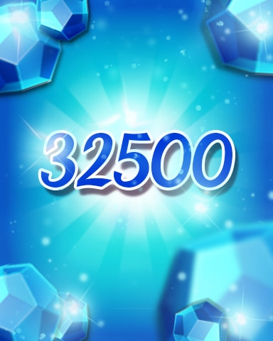 Blue Jewels 32500 Badge - Jewel Academy