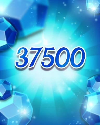 Blue Jewels 37500 Badge - Jewel Academy