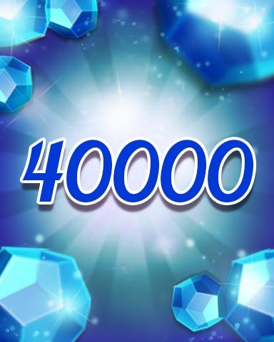 Blue Jewels 40000 Badge - Jewel Academy