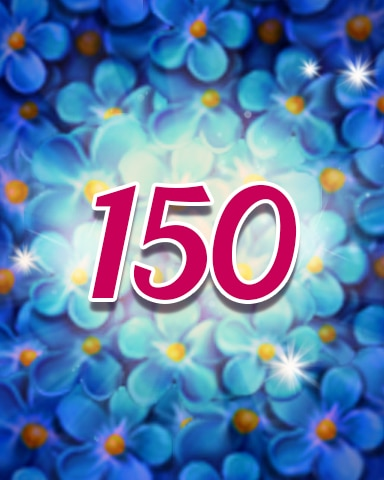 Flowers 150 Badge - Jewel Academy
