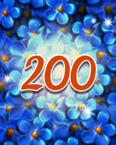 Flowers 200 Badge - Jewel Academy