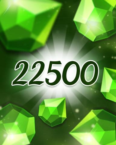 Green Jewels 22500 Badge - Jewel Academy