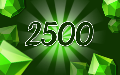 Green Jewels 2500 Badge - Jewel Academy